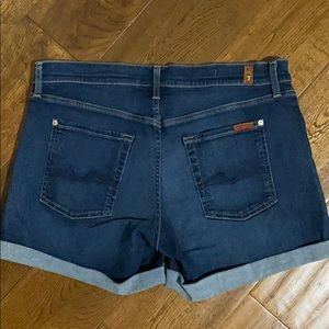 7 For All Mankind Shorts - 7 for all man kind size 30 shorts